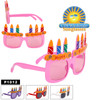 "Party Glasses ""Happy Birthday!"""