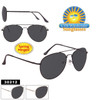 Smoke Lens Aviators by the Dozen - Style # 30212