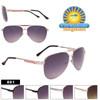 Metal Aviator Sunglasses by the Dozen - Style #801