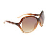Vintage DE Sunglasses DE700 Duotone Brown & Amber Frame Color
