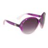 Celebrity Sunglasses by Designer Eyewear™ DE701 Purple & White Duotone Frame