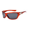 Wholesale Sports Sunglasses XS95 Metallic Orange & Silver Frame