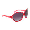DI104 Rhinestone Sunglasses Red Frame