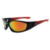 Wholesale Polarized Xsportz™ Sunglasses - Style #XS118 Black/Red/Revo