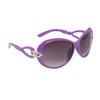 Diamond Eyewear™ Rhinestone Sunglasses DI600 Lavender Frames