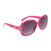 Rhinestone Sunglasses for Women DI601 Magenta Frame