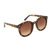 Round Fashion Sunglasses 812 Tortoise Frame
