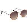 Metal Sunglasses 820 Gold with Tortoise