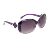 Fashion Sunglasses 810 Purple Pattern Frame