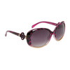 Fashion Sunglasses 810 Maroon Pattern Frame