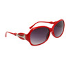 Fashion Sunglasses 6004 Red Frame