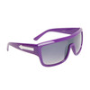 Single Piece Lens Unisex Sunglasses 6003 Purple Frame