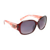 DE5003 Designer Sunglasses Red Frame