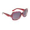 DE5019 Fashion Sunglasses Red Frame