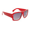 Square Aviator Sunglasses 6035 Red Frame