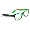 Wholesale Nerd Glasses 6000 Black/Green