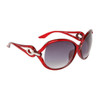 Designer Sunglasses 6040 Red Frame