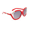 Vintage Sunglasses 6036 Red Frame