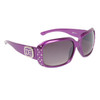 Rhinestone Sunglasses DE5009 Purple Frame