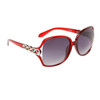 Vintage Fashion Sunglasses 6039 Red Frame