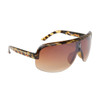 Single Piece Lens Stunners 6043 Tortoise Frame