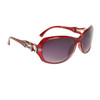 DE5020 Fashion Sunglasses Maroon Frame