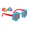 Flower Sunglasses for Girls # 8103 Red/Blue