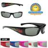 Kid's Bulk Sunglasses - Style #8120 (Assorted Colors) (12 pcs.)