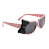 Polk-A-Dot California Classics Sunglasses 8010 Light Pink w/Black Bow