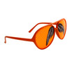 Mustache Glasses Wholesale - Style # 8037 Orange/Orange