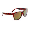 Wholesale California Classics Sunglasses - Style # 8079 Red/Gold Revo