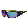 Xsportz Sports Sunglasses Wholesale - Style # XS606 Black/Green