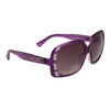 Diamond™ Eyewear Rhinestone Sunglasses by the Dozen - Style # DI137 Purple