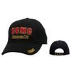 Wholesale Military Caps C129 (1 pc.) U.S.M.C. Semper Fi Black