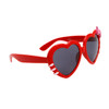 Wholesale Heart Sunglasses - Style # 8067 Red