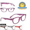 Animal Print Reading Glasses R9039