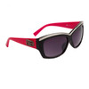 DE5072 - Fashion Sunglasses Black/Magenta