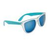 California Classics Sunglasses 8029 Blue with Blue Flash Mirror Lens