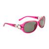Women's Polarized Sunglasses - 8218 Translucent Pink