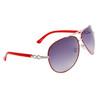 Wholesale Women's Aviator Sunglasses Red