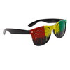 Mesh Lens Black California Classics 8026 Red/Yellow/Green