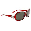 Women's Polarized Wholesale Sunglasses 8216 Maroon