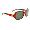 Women's Polarized Wholesale Sunglasses 8216 Brown