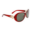 Wholesale Women's Polarized Fashion Sunglasses 8219 Maroon