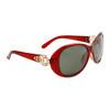 Wholesale Women's Polarized Fashion Sunglasses 8219 Maroon