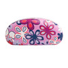 Floral Print Wholesale Sunglass Hard Cases AC4001 Lavender with Dark Purple Interior