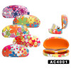Floral Print Wholesale Sunglass Hard Cases AC4001