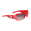 Wholesale Women's Sunglasses with Rhinestones - Style #DE156 Red