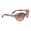 Wholesale Vintage Cat Eye Sunglasses - Style #DE737 Brown