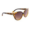 Bulk Cat-Eye Rhinestone Sunglasses - Style #DI605 Yellows